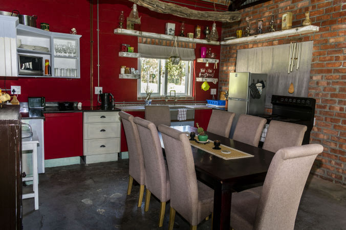 Protea Shed Kitchen